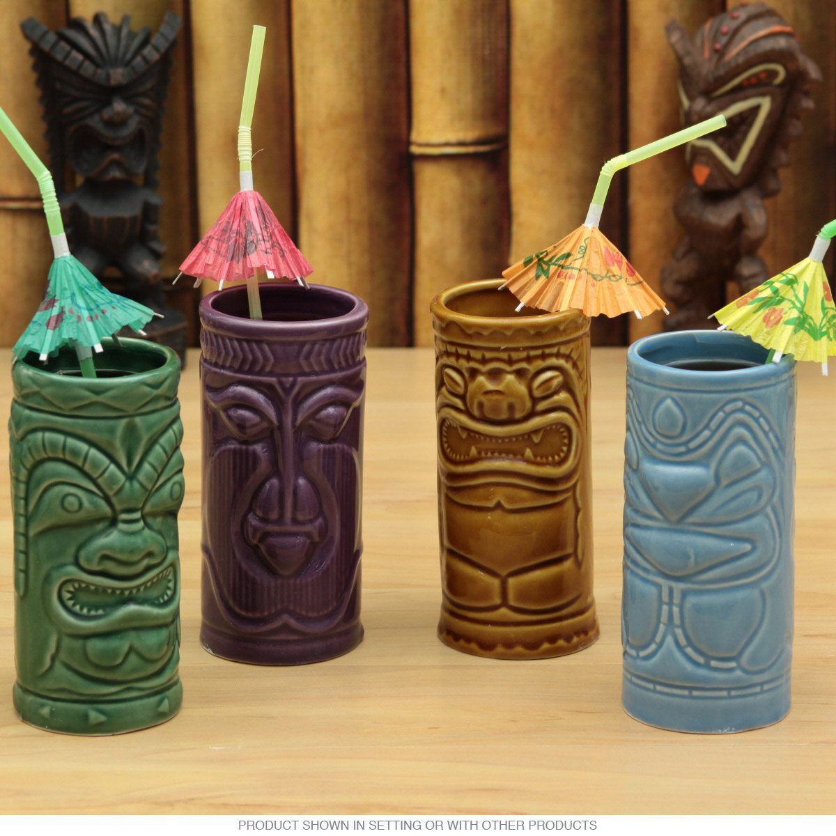 Ceramic Tiki Mugs At Niftyretro Com